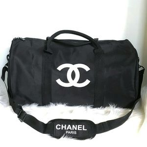 Authentic Chanel VIP Gift Duffle Gym bag